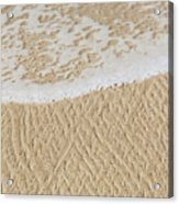 Sand Patterns Acrylic Print