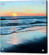 Sand Reflections Acrylic Print