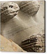 Sand Spirits Acrylic Print