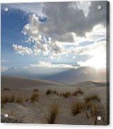 Sand Sun Acrylic Print