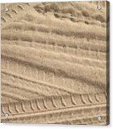 Sand Tracks Acrylic Print