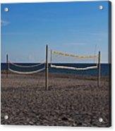 Sand Volleyball Acrylic Print