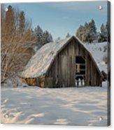 Sanders Barn Acrylic Print