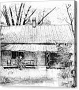Sandersville Road Farmhouse Acrylic Print