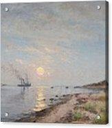 Sandhamn In The Sunset Acrylic Print
