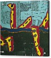Sandia Cottonwood The Mantid Acrylic Print