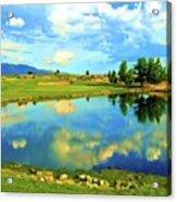 Sandia Golf Club Hole #14 Acrylic Print