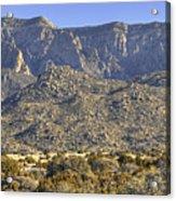 Sandia Mountain Panorama Acrylic Print