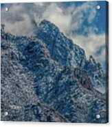 Sandia Mountains 2 Acrylic Print