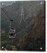 Sandia Peak Cable Car Acrylic Print