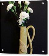 Sandi's Leaf Vase Acrylic Print
