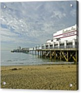 Sandown Pier Acrylic Print