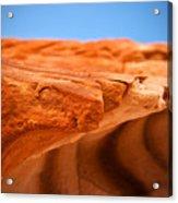 Sandstone Edge Acrylic Print