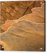 Sandstone Fins Acrylic Print