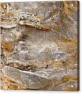 Sandstone Formation Number 2 At Starved Rock State Acrylic Print