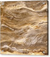 Sandstone Formation Number 3 At Starved Rock State Acrylic Print