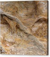 Sandstone Formation Number 4 At Starved Rock State Acrylic Print