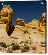 Sandstone Fortress Valley Of Fire Acrylic Print