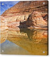 Sandstone Illusions Acrylic Print