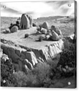Sandstone Plateau Acrylic Print