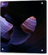 Sandstone Portal Acrylic Print by Mike  Dawson