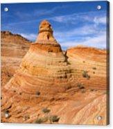Sandstone Tent Rock Acrylic Print