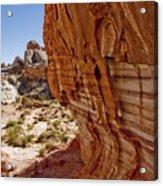Sandstone Texture Acrylic Print