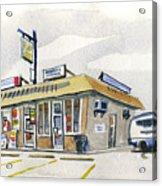 Sandwich Shop Acrylic Print