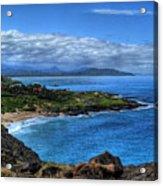 Sandy Beach Park-oahu Acrylic Print