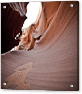 Sandy Canyon Acrylic Print