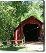 Sandy Creek Bridge Acrylic Print
