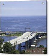 Sandy Hook Bridge Acrylic Print