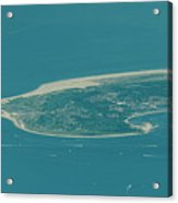 Sandy Hook New Jersey Aerial Photo Acrylic Print