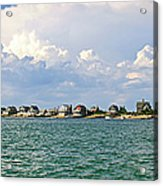 Sandy Neck Cottage Colony Acrylic Print