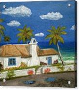 Sandy Point Acrylic Print
