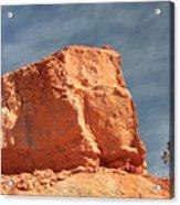 Sandy Rock In Morning Light Acrylic Print