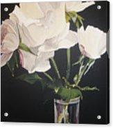 Sandys Roses Acrylic Print