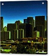 Sanfrancisco Sky Line Acrylic Print
