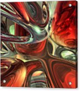 Sanguine Abstract Acrylic Print