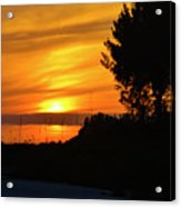 Sanibel Island Sunset Two Acrylic Print