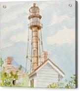 Sanibel Lighthouse 2 Acrylic Print