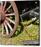 Sanibel Village Wagon Wheels Acrylic Print