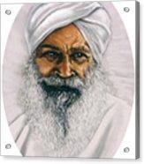 Sant Kirpal Singh Acrylic Print
