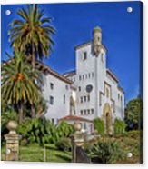 Santa Barbara County Courthouse Acrylic Print