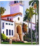 Santa Barbara Court House Acrylic Print