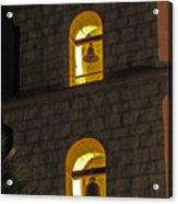 Santa Barbara Mission Bell Tower Acrylic Print