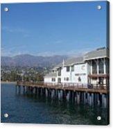 Santa Barbara Pier Acrylic Print