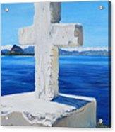 Santa Catarina's Cross Acrylic Print