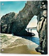Santa Cruz Beach Arch Acrylic Print