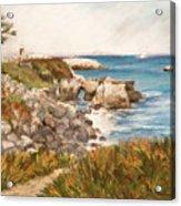 Santa Cruz By The Bay Acrylic Print by Ann Caudle